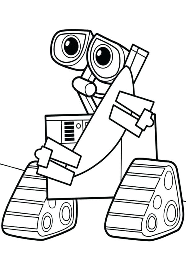 600x848 Robot Coloring Page Robot Coloring Pages Colouring Robot Coloring