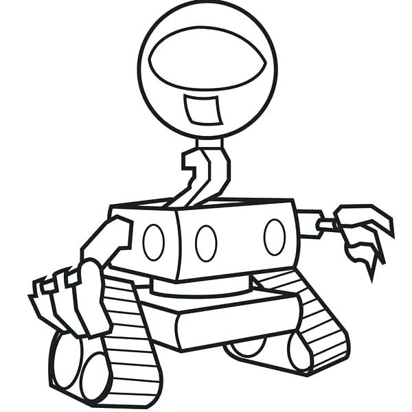 600x600 Robot Coloring Pages Robot Coloring Pages Robot Coloring Pages