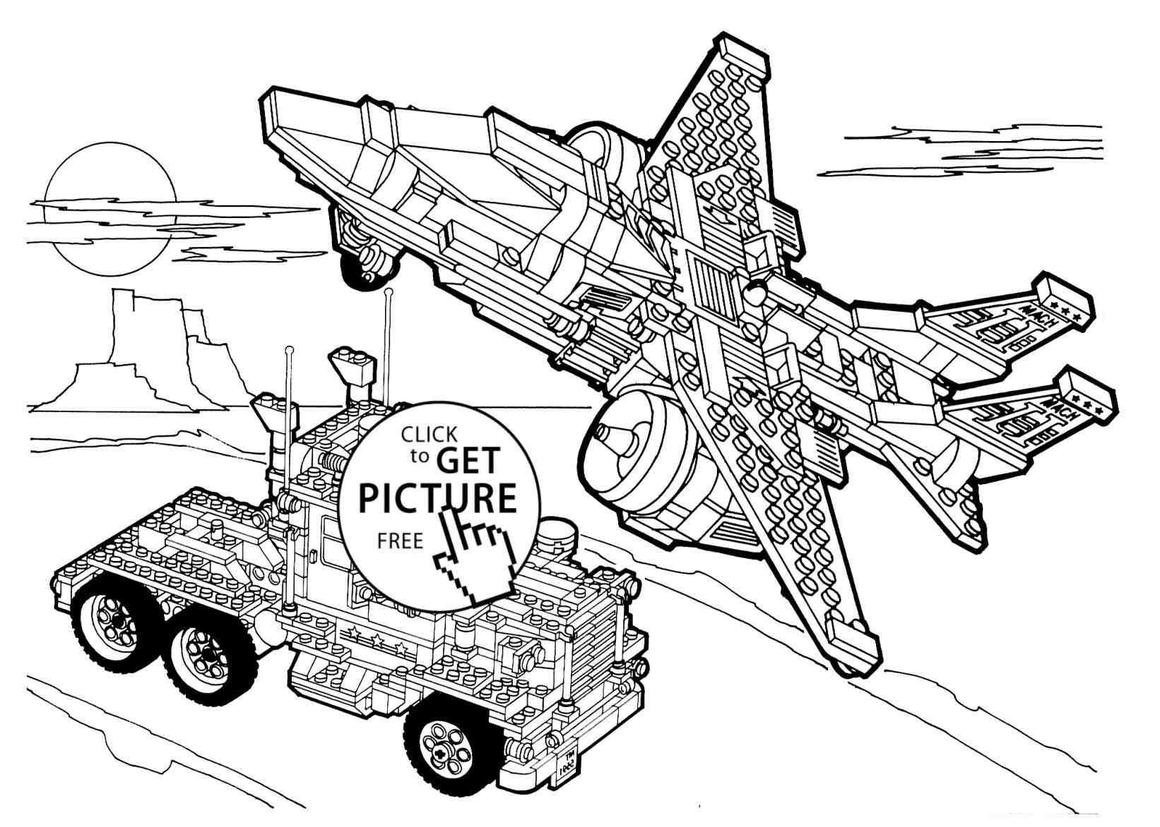 1642x1172 Space Coloring Pages Batman Dc Universe Truck And Plane Page