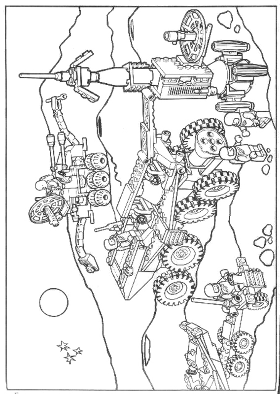 568x800 Free Lego Coloring Pages