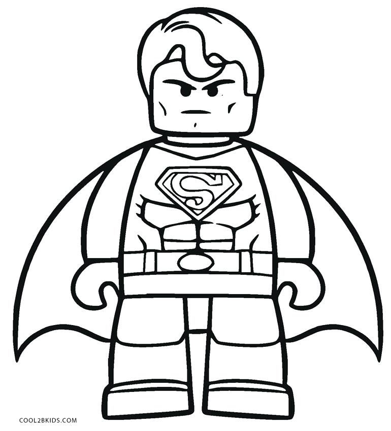770x850 Lego Coloring Pages For View Larger Lego Space Police Coloring
