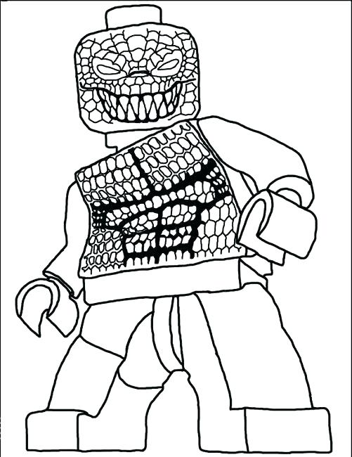 Lego Spiderman Coloring Pages at GetDrawings | Free download