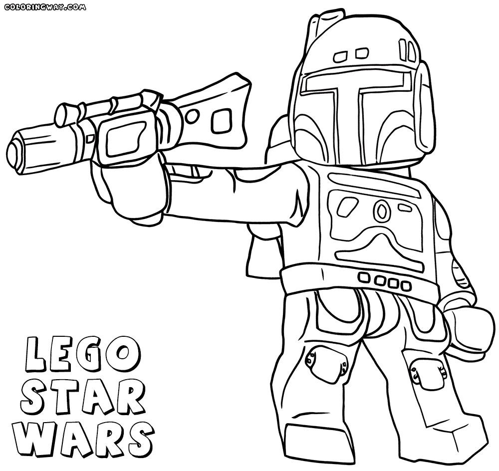 1000x944 Lego Star Wars Coloring Pages Free Printable Fresh
