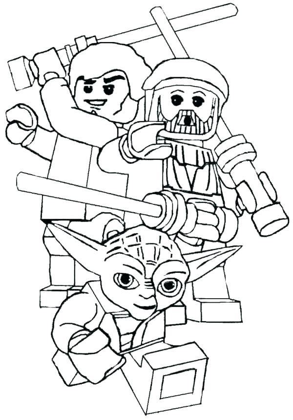 600x859 Coloring Pages Lego Star Wars Coloring Pages Star Wars Coloring