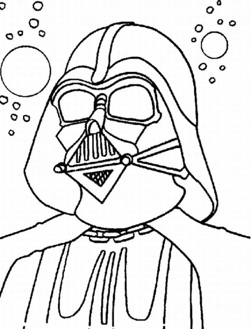 832x1089 Star Wars Coloring Pages Free Printable