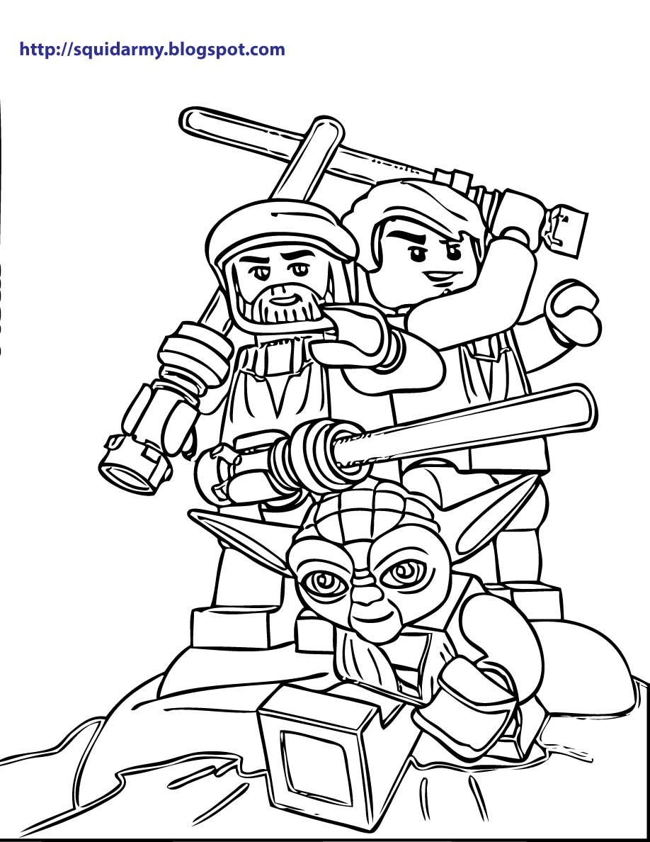 Lego Star Wars Coloring Pages at GetDrawings.com | Free for personal ...