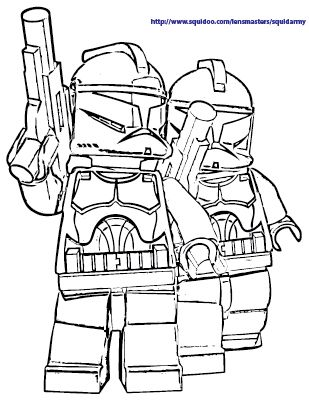 Lego Star Wars Coloring Pages At Getdrawings Com Free For Personal