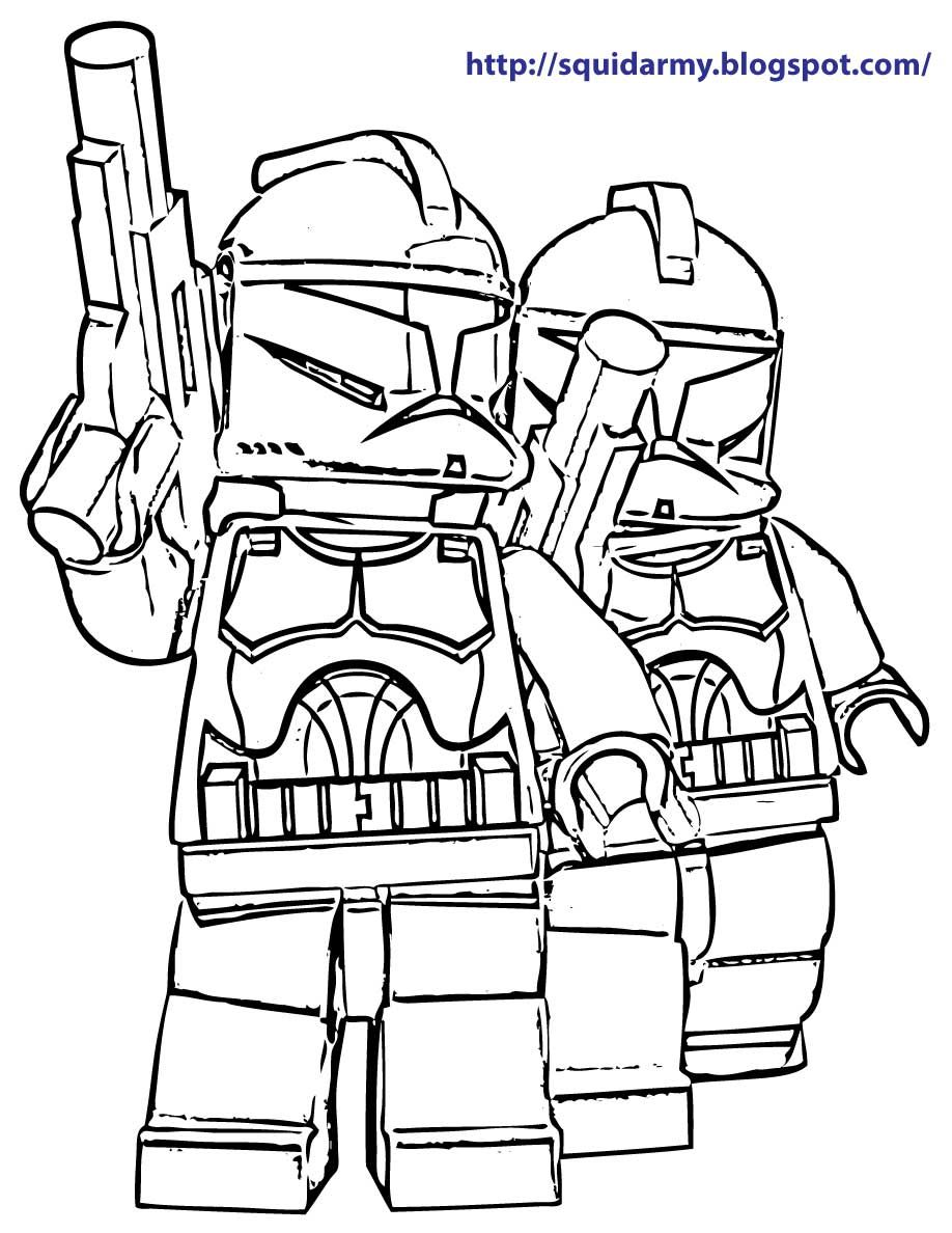 Lego Star Wars Coloring Pages To Print At Getdrawings Com