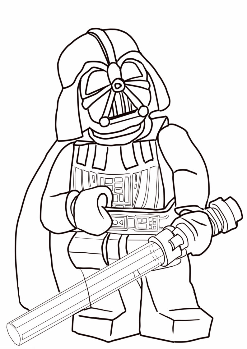 794x1123 Darth Vader Coloring Pages Kolorowanka Lego Star Wars Nr Fine Mosm