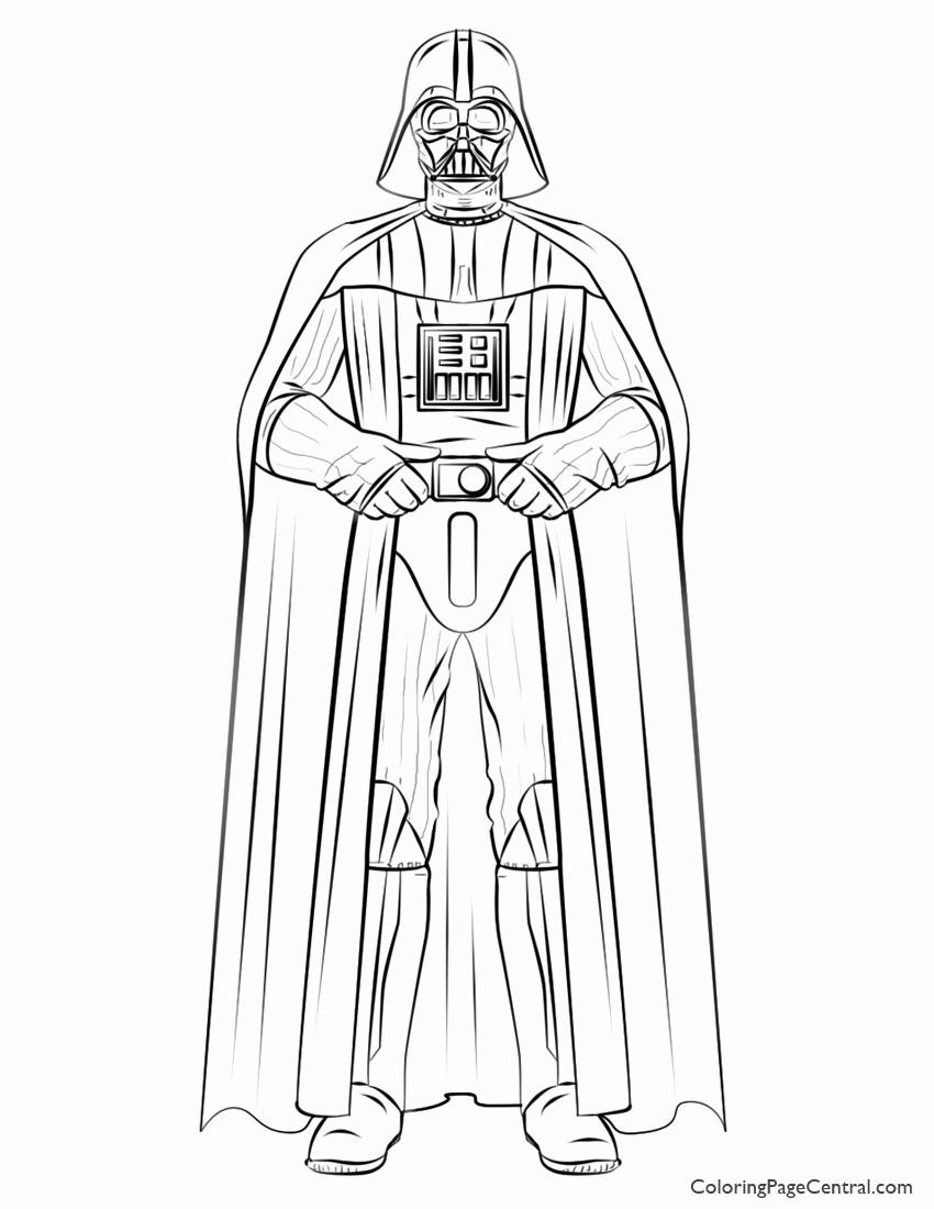 850x1100 Coloring Darth Vader Coloring Lego Star Wars Darth Vader Coloring