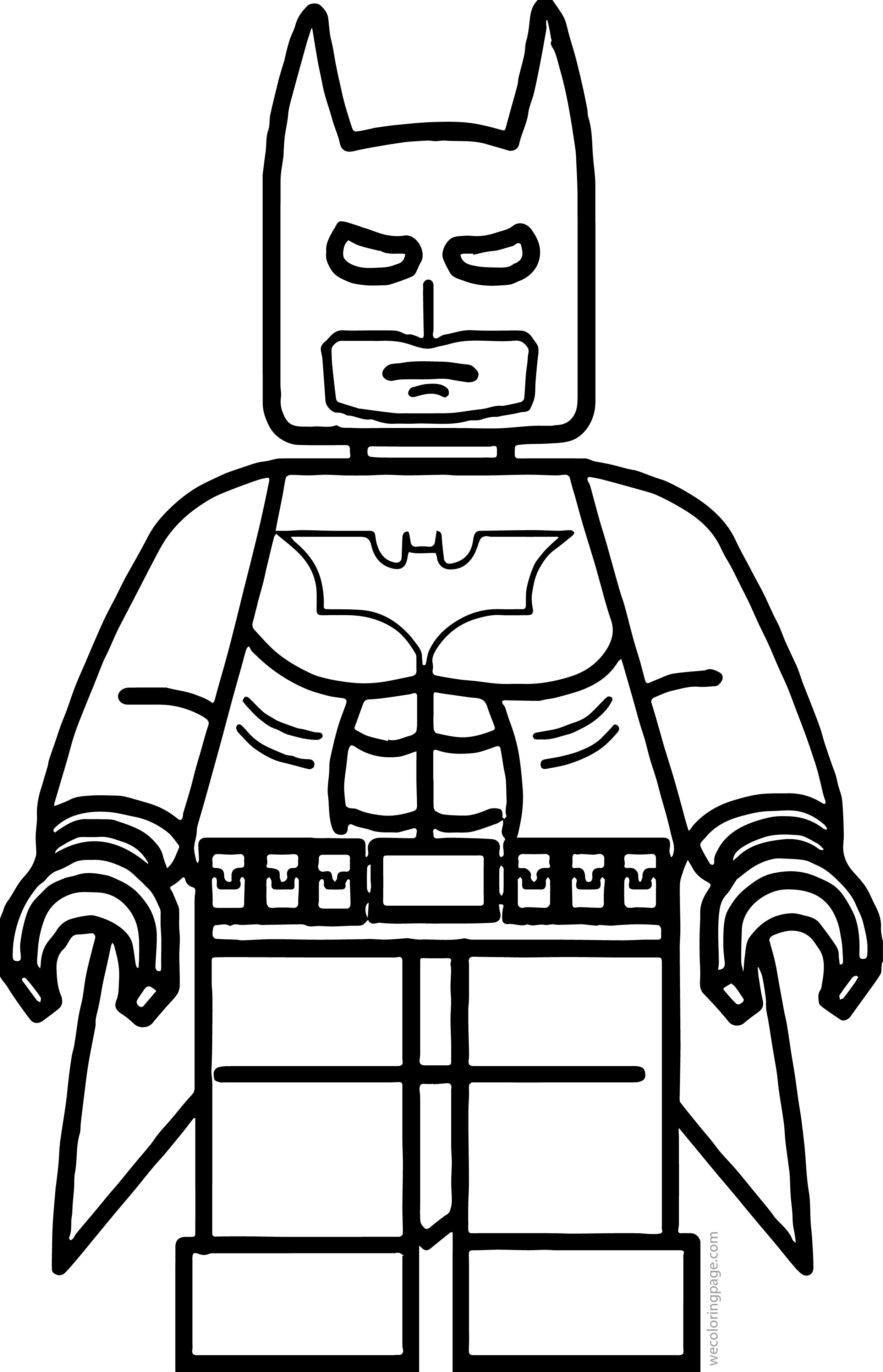 Lego Superhero Coloring Pages At Getdrawingscom Free For