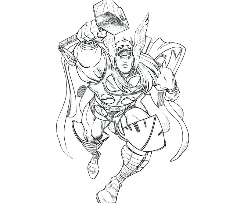 800x667 Marvel Thor Coloring Pages Lego Thor Coloring Pages Coloring Page
