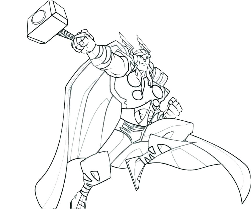 960x800 Thor Coloring Page Coloring Page Here Are Coloring Page Pictures