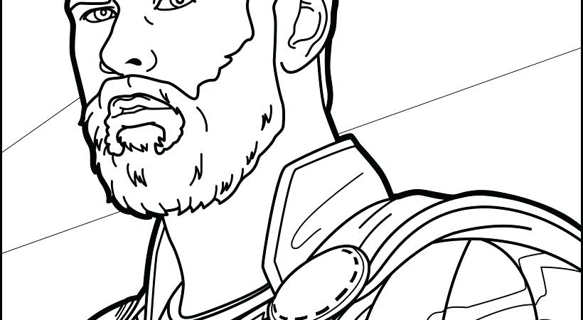820x450 Thor Coloring Pages Avengers Coloring Page Hard Lego Thor