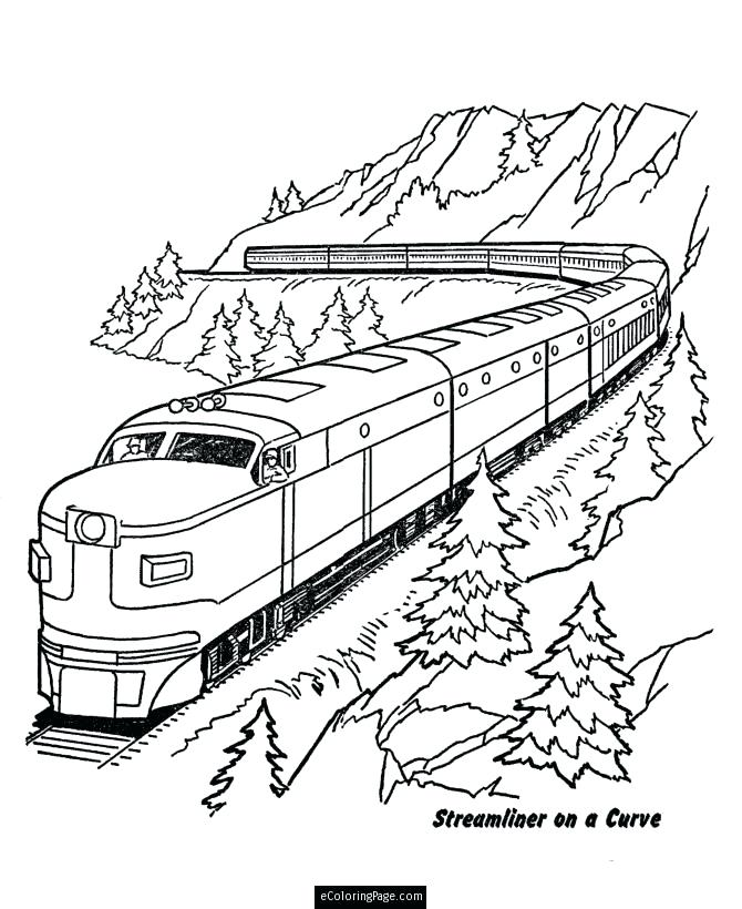 670x820 Lego Train Coloring Pages Train Coloring Pages Color Online Lego