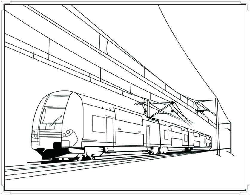 837x654 Lego Train Coloring Sheets Pages In Front Of Rail Road Branch Also