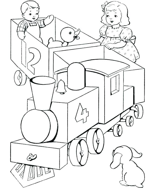 624x763 Train Coloring Pages Download Large Image City Train Train