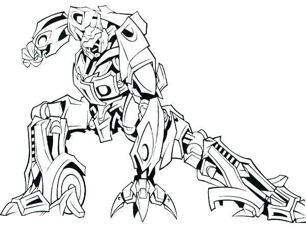 Lego Transformers Coloring Pages