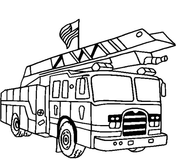 Lego Truck Coloring Pages