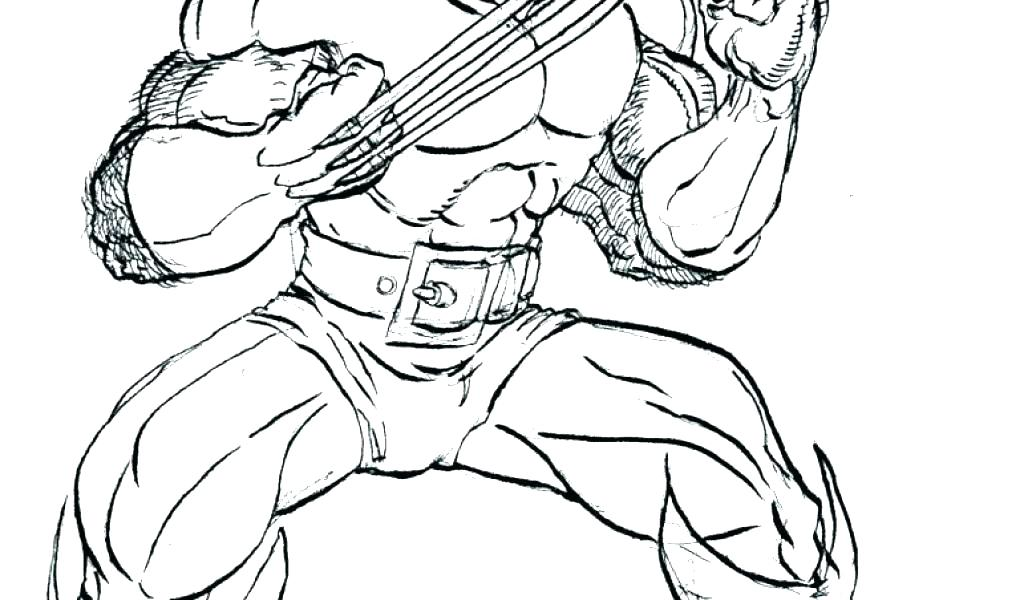 1024x600 Wolverine Colouring Wolverine Color Pages Wolverine Coloring Pages