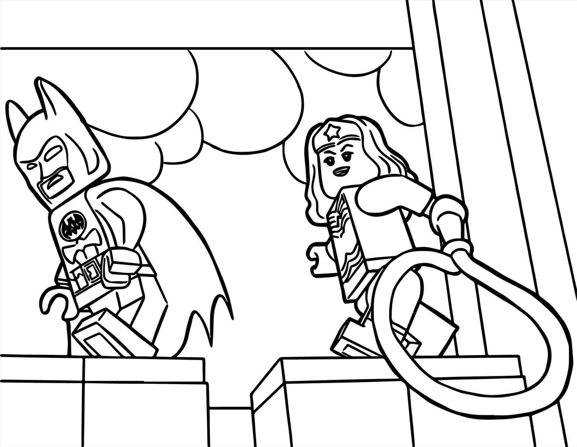 Lego Wonder Woman Coloring Pages at GetDrawings | Free ...