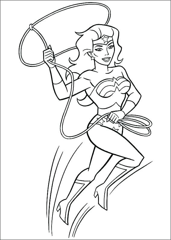 Lego Wonder Woman Coloring Pages At Getdrawings Free Download