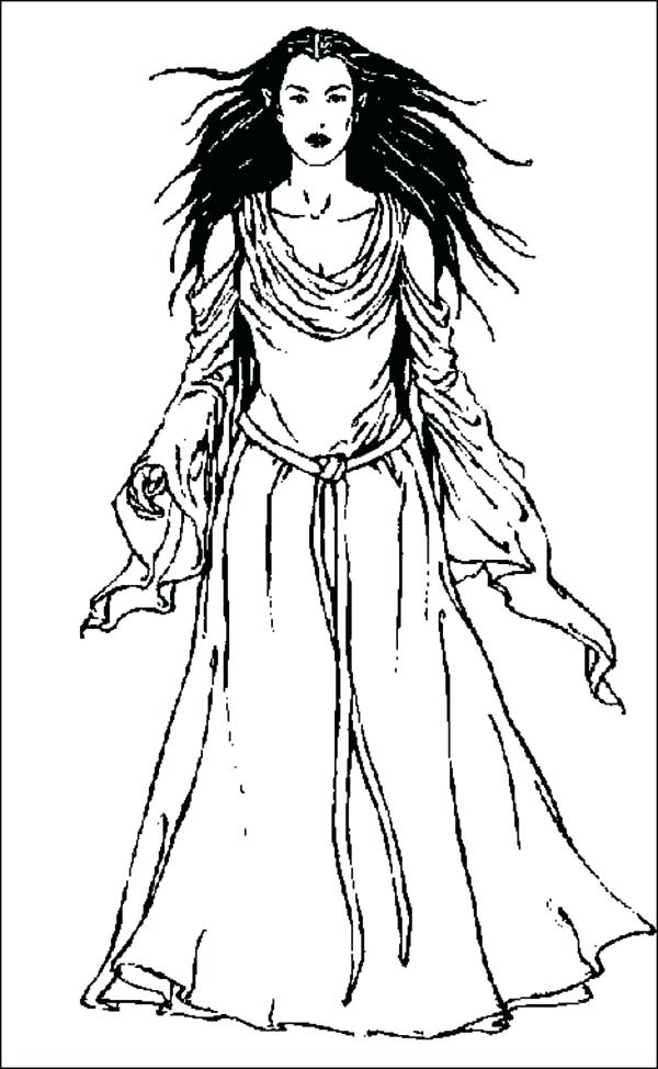 600x974 Lotr Coloring Pages Lord The Rings Elf Coloring Pages Lord