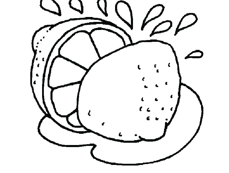 794x600 Lemon Coloring Page Coloring Page Lemon Lemon Fruit Coloring Page