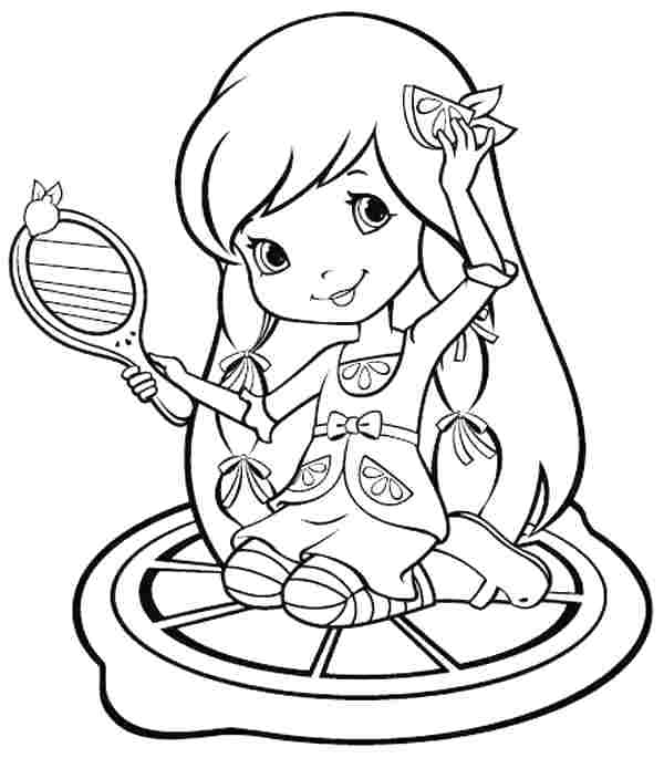 600x685 Lemon Coloring Page Coloring Page Lemon Petite Lemon Coloring