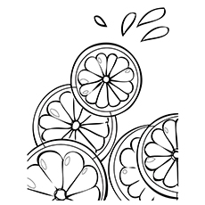 230x230 Top Lemon Coloring Pages For Toddlers