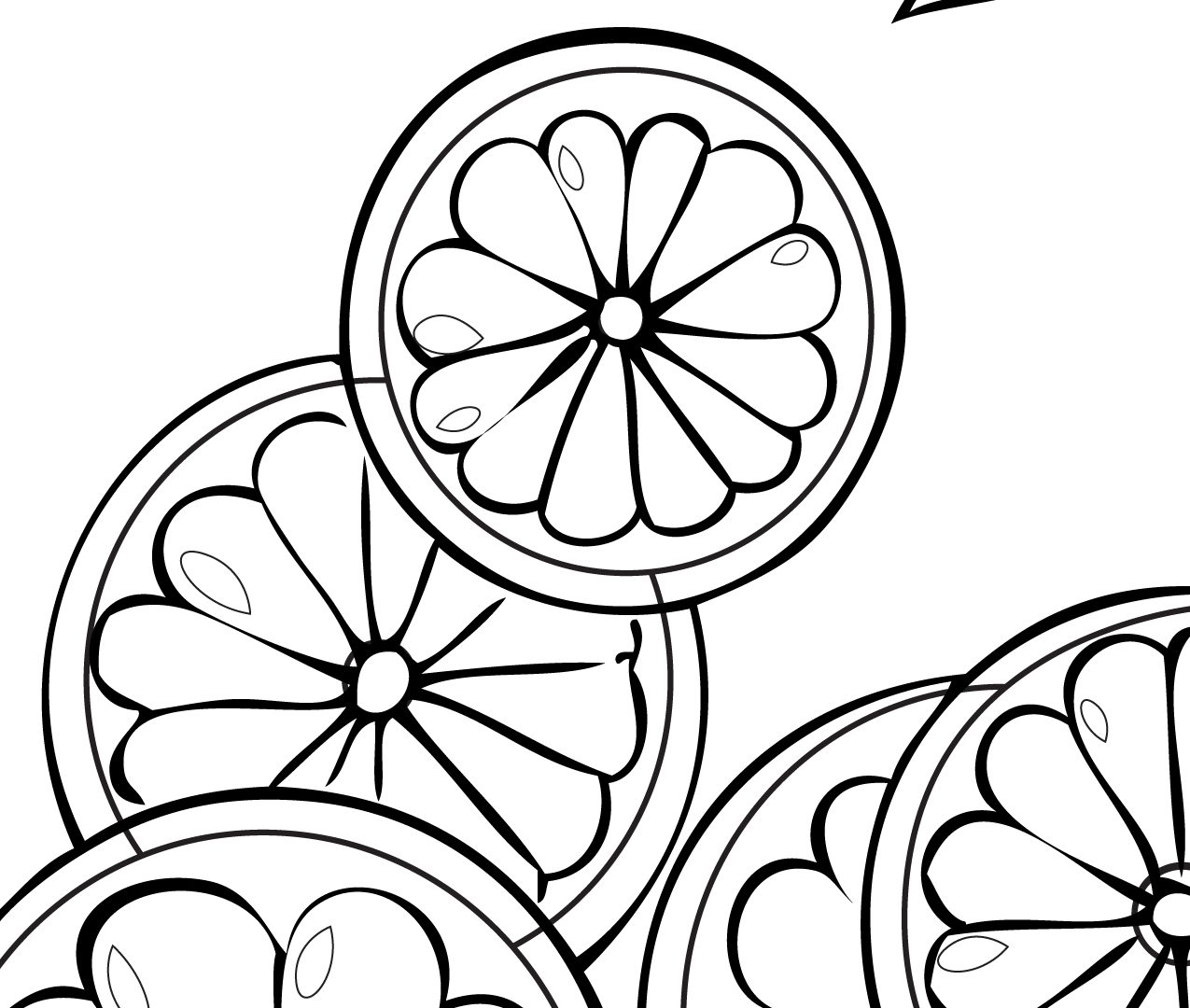 1275x1080 Lemonade Stand Coloring Pages To Print
