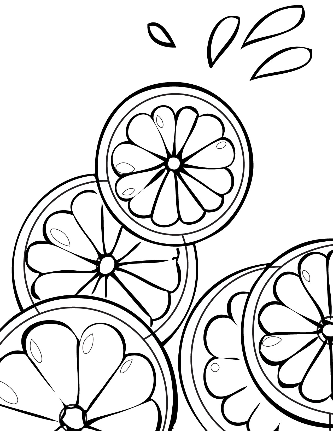 1275x1650 Improved Lemonade Stand Coloring Pages Best