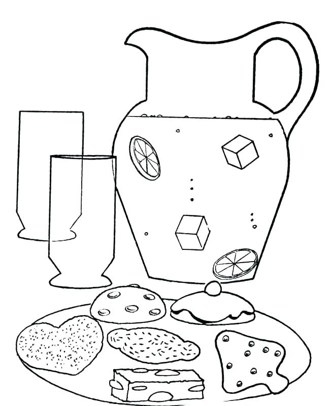 660x801 Lemonade Coloring Page Coloring Page Coloring Page Lemonade Stand