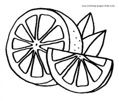 236x201 Lemons Fruits Coloring Pages For Kids, Printable Free Lam