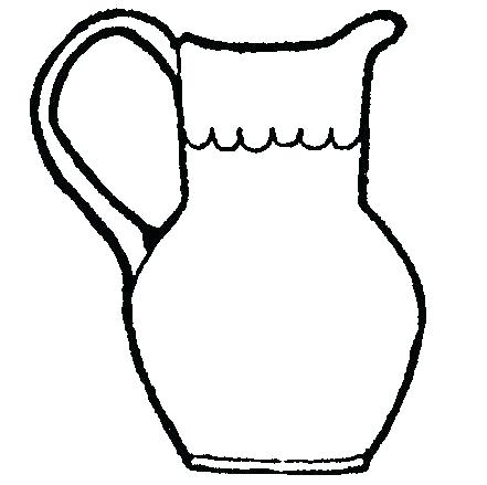 441x439 Luxury Pitcher Coloring Pages Print Clip Art Molly Lemonade