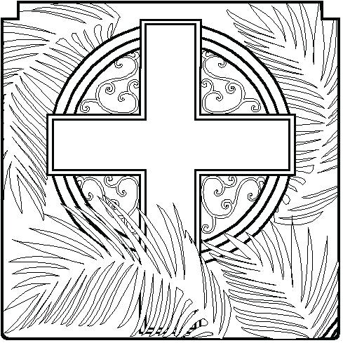 489x489 Lenten Coloring Page Coloring Pages Lent Printable Catholic Sheets