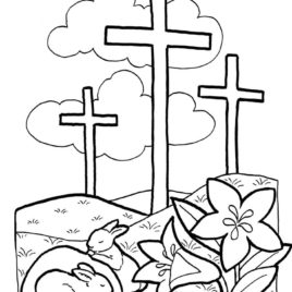 268x268 Catholic Lent Coloring Sheets Lent Coloring Pages Printable Kids