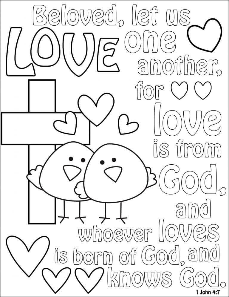 768x994 Free Printable Lent Coloring Pages