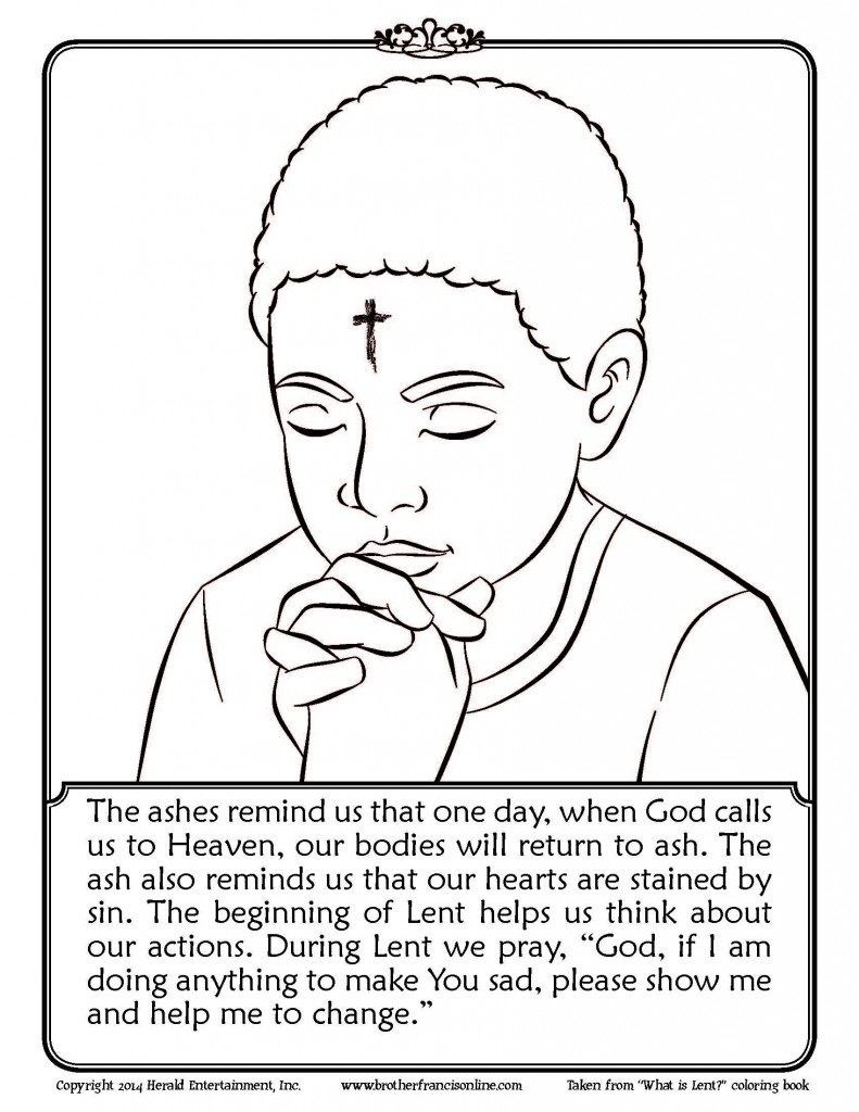 Lent Printable Coloring Pages