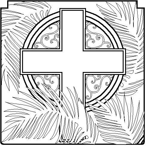 489x489 Catholic Coloring Sheets For Easter Holy Week Coloring Pages