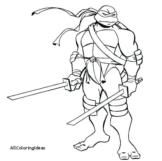634x627 Teenage Mutant Ninja Turtles Leonardo Coloring Pages Printable