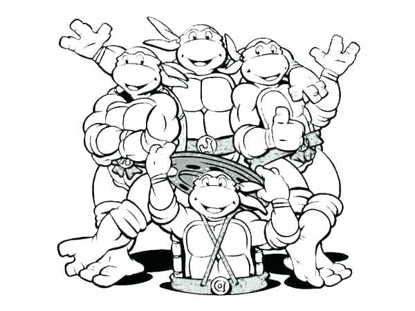 600x450 Tmnt Coloring Pages Leonardo Mutant Ninja Turtles Coloring Pages