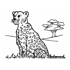 230x230 Top Free Printable Leopard Coloring Pages Online