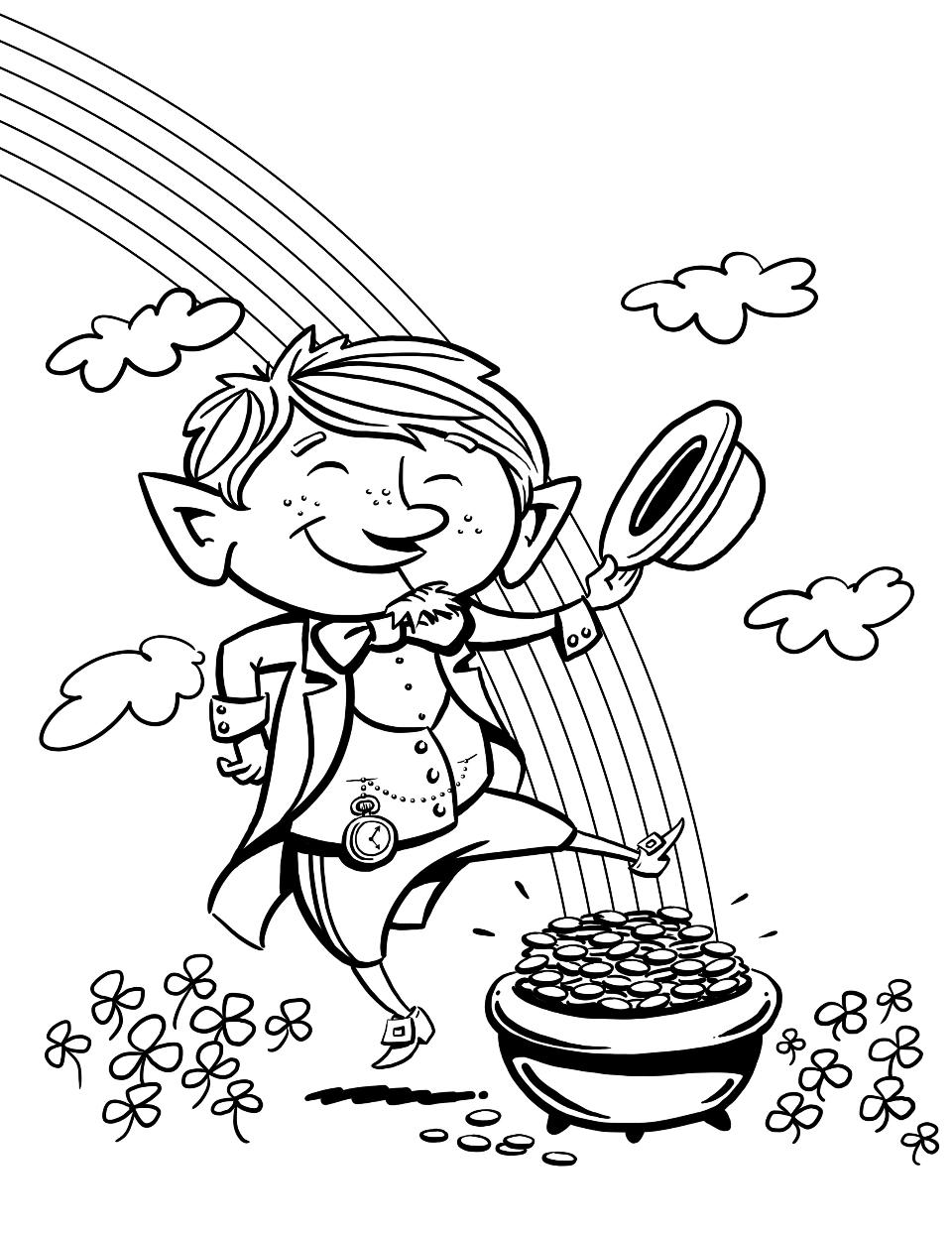 960x1243 Leprechaun Coloring Pages Best Coloring Pages For Kids Leprechaun