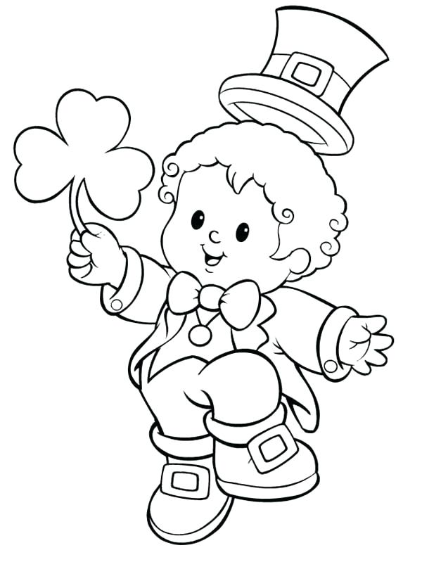 Leprechaun Coloring Pages Free at GetDrawings.com | Free for ...