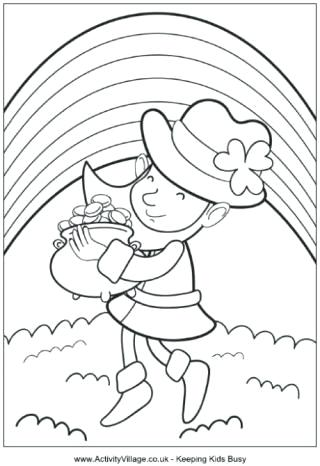 320x466 Leprechaun Coloring Pages Free Leprechaun Coloring Pages Free