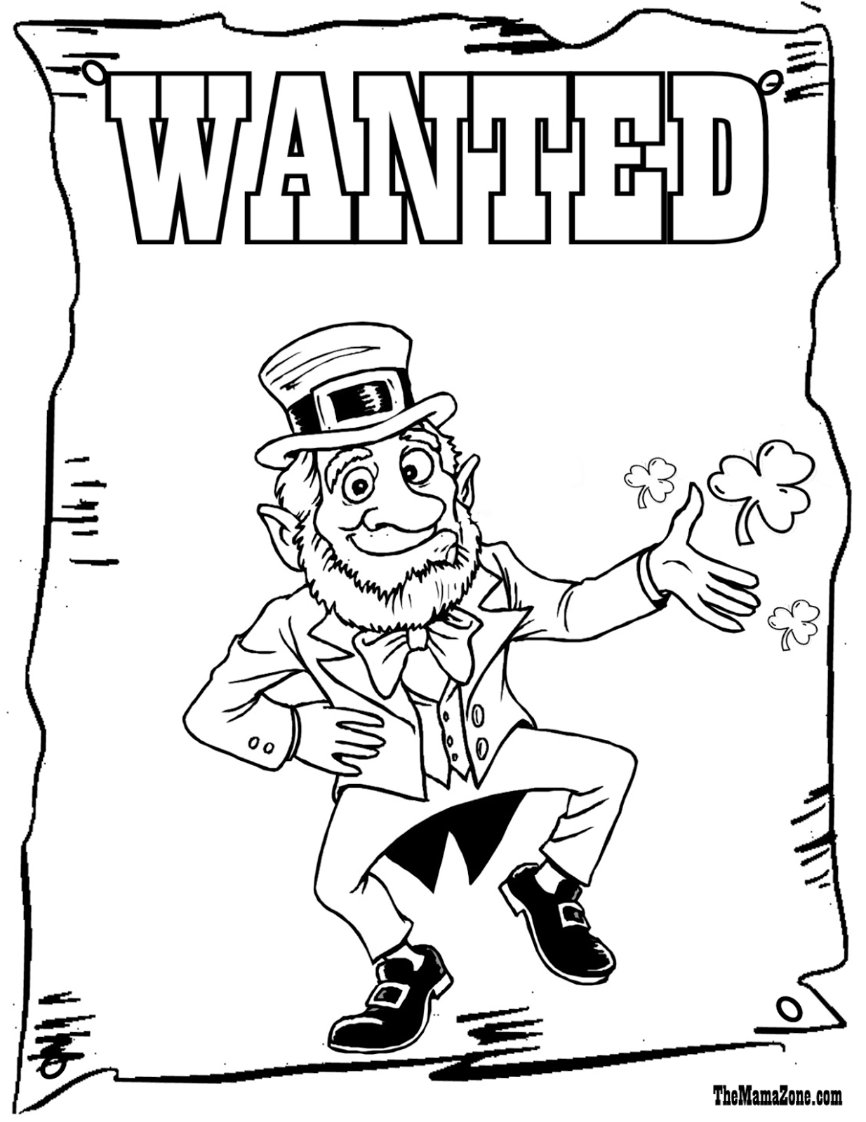 1234x1600 Leprechaun Coloring Pages Jacb Me Amazing Free