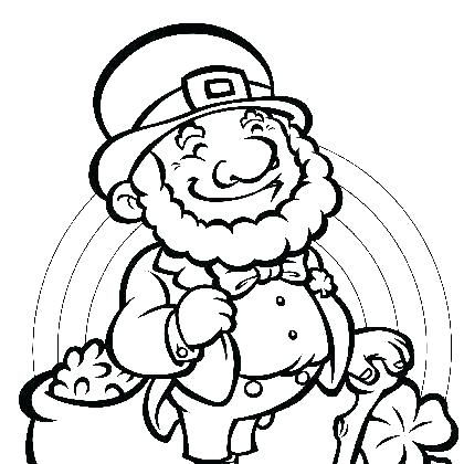 420x420 Print Leprechaun Coloring Pages Free Printable Coloring Pages