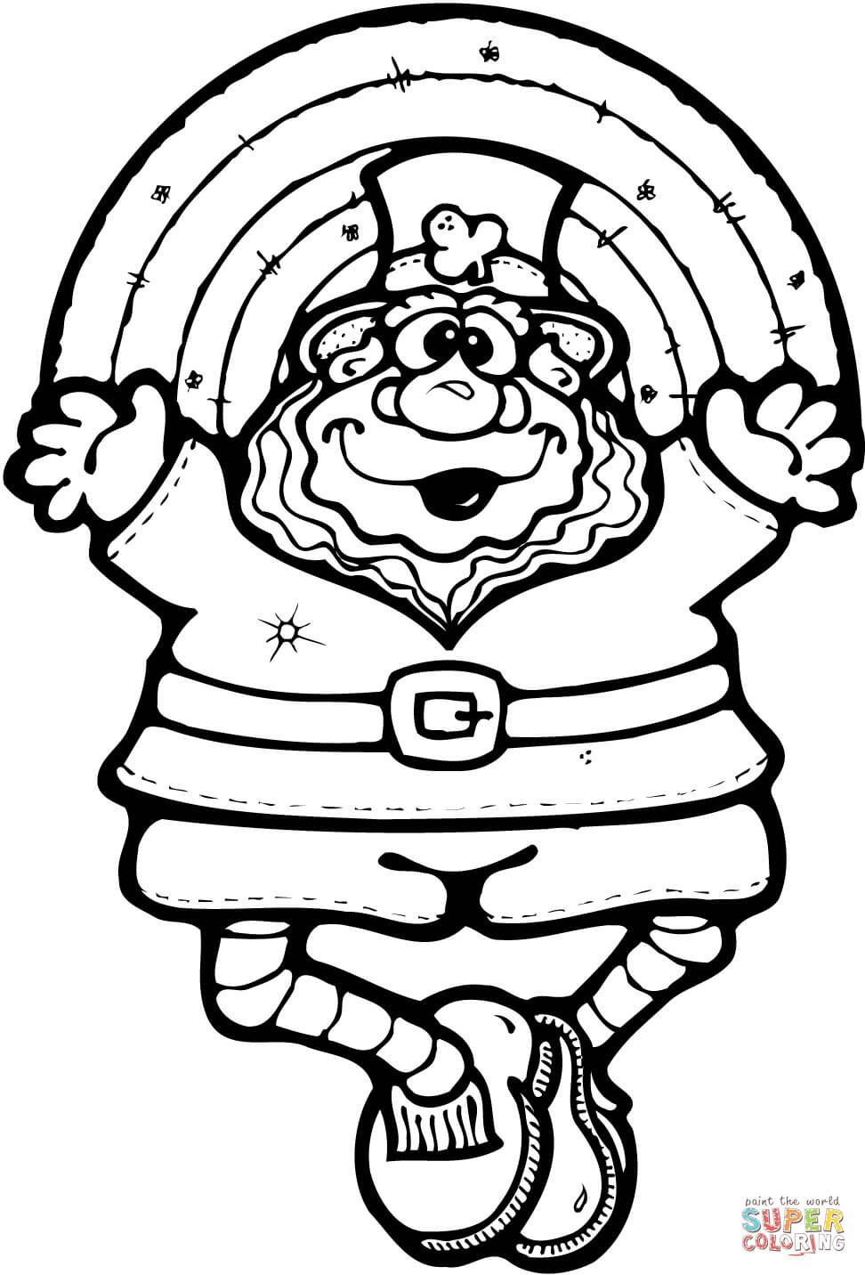 972x1432 Fashionable Ideas Leprechaun Coloring Pages Sonic Online Pdf Page