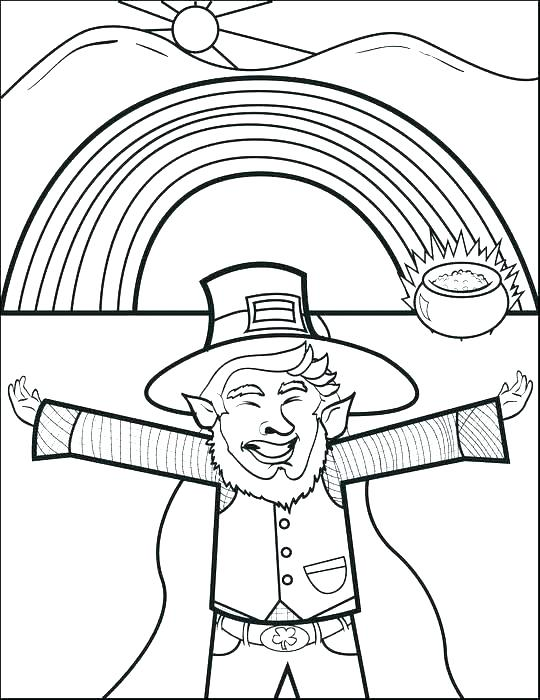 540x700 Leprechaun Color Pages Free Leprechaun Coloring Pages Ghost Rider